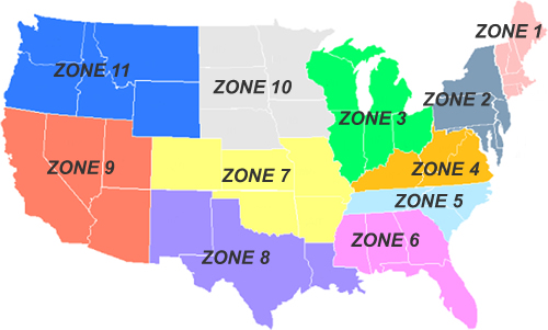 Trucking: Trucking Zone Map on growing zones us map, termite probability map, zone maps south carolina, zone maps of all times,